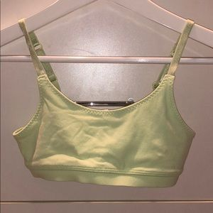 SUPER CUTE LIME GREEN GIRLS ACTIVE WEAR BRA